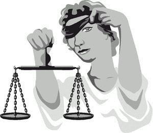 A justiça cega do Brasil